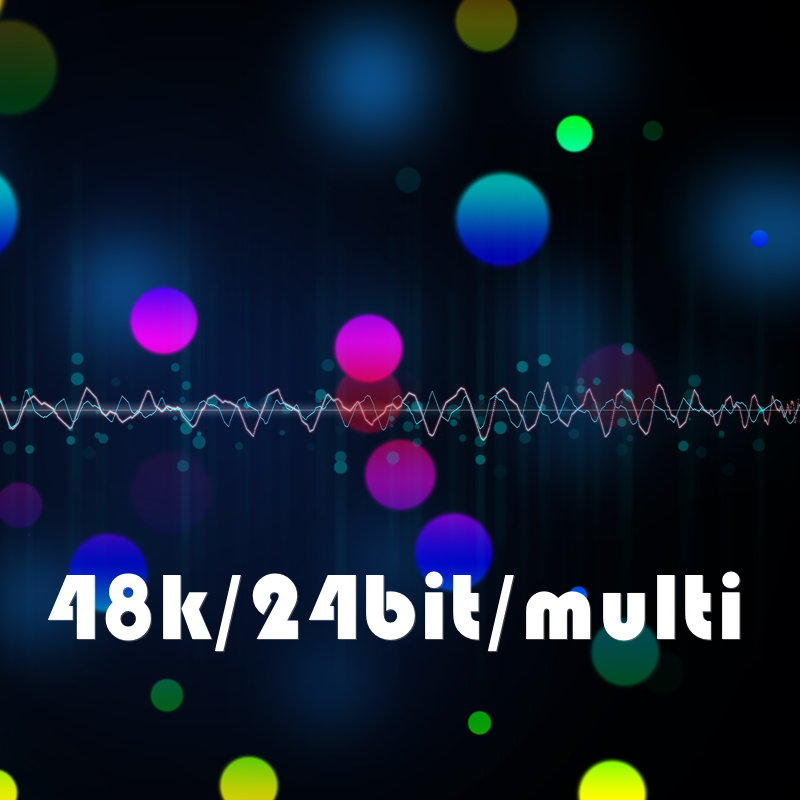 48k/24bit/multiシリーズ